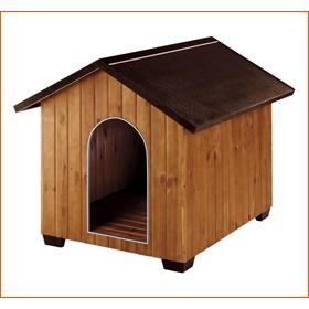 Caseta para perros de Madera Domus Mediana