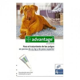 Advantage 400 Para Perros de mas de 25Kg