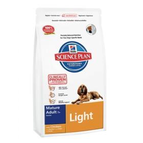 Hills Canine Mature Light con pollo