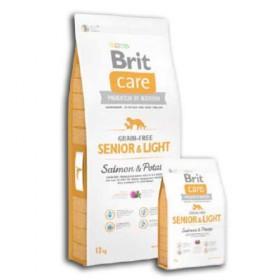 Brit Senior Care / Luz Grain Salmon gratuito e batata