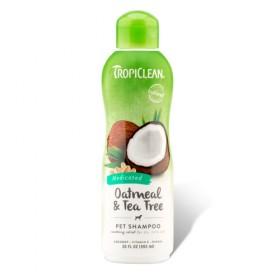 Tropical Limpo Natural Oatmeal Shampoo Tea Tree 355ml