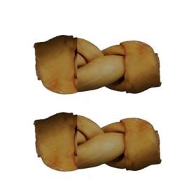 Sabor Torcido Bacon Osso para Cães 2Uds