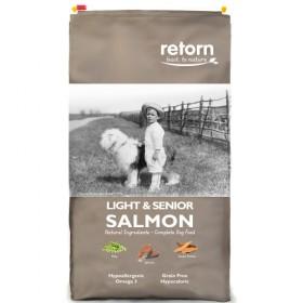 Salmon Retorn Canino Luz Terceira