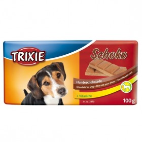 Tableta Chocolate Negro Para Perros 100Grs