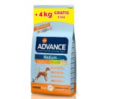 Oferta Advance Medium Adult 14kg + 4kg Gratis