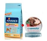 PACK ADVANCE Adult Sensitive Salmon y Arroz 12kg + Collar Antiparasitario 70cm