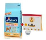 PACK ADVANCE Adult Sensitive Salmon y Arroz 12kg + Collar Scalibor 65cm