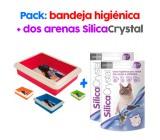 Areia de sílice para Gatos Lavender
