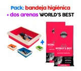 Arena para Gatos World´s Best Bio Aglomerante Multiple