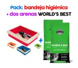 Arena para Gatos World´s Best Bio Aglomerante