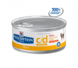Hill´s Prescription Diet Feline c/d Latas 156grs