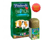Oferta 2 Vitakraft Menu Emotion Cobaya 600gr + Heno regalo 500gr