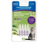 Natural Pipetas Antiparasitários Francodex para Gatos 4 Uds.