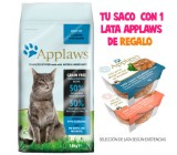Applaws Gatos Peixes do Oceano y Salmao