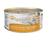 Applaws Lata Pechuga de Pollo Con Queso Para Gatos 156 grs