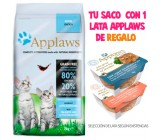 Applaws Gatitos 80% Pollo Fresco y Sin Cereales 2kg
