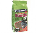 Arena Para baño Chinchillas Vitakraft Sandy 1kg