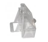 Bebedero Plastico Transparente Para Pajaros 2 uds.
