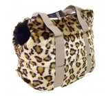 Bolso Leopardo Con Apertura Superior
