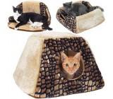 Cabaña Para Gatos 3 en 1