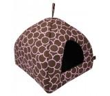 Cama Para Perros en Forma de Cubo Rosa