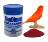 Cantaxantin Pigmentante Para Colorir vermelho