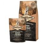 I Carnilove filhote de cachorro da raça Large Grain Salmon gratuito e Turquia