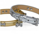 Collar Serie Plata Hueso Cristal