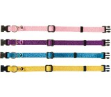 Collar Gatos Purpurina MACLEATHER