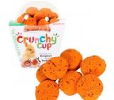Crunchy de cenouras e linho