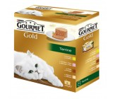 Friskies Gourmet Gold Mousse Terrine Pack 8uds.
