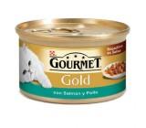 Friskies Gourmet Gold Bocaditos Salsa Salmon y Pollo