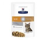 Hills Prescription Diet Feline k/d Mobility con Frango Pacote