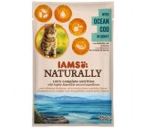 Iams Naturally Bacalhau do Oceano Gatos Adultos