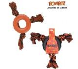 Brinquedo com Corda Bomber Triple Toss
