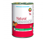 Lata Natural Trainer Adult Medium Ternera, Arroz y Ginseng