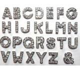10 Letras strass para collares de mascotas