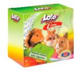 Lolo Pets Roedores Bloque mineral con sabor Manzana