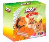 Lolo Pets Roedores Bloque mineral con sabor Naranja