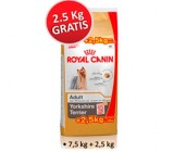 .Oferta Royal Canin Yorkshire Terrier 7.5kg + 2,5kg