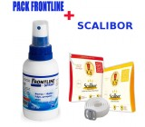 Frontline Spray Antiparasitarios + Collar Scalibor
