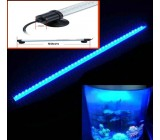Barra leds sumergible azul