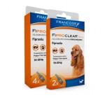 Pipetas Antiparasitários Fiproclear para Cães 10 a 20kgs