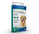 Pipetas Antiparasitários Fiproclear para Cães de 20 a 40kgs