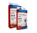 Pipetas Antiparasitários Fiproclear para Cães 2 a 10kgs