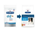 Hill´s Prescription Diet Canine d/d Arroz y Salmon