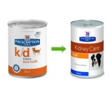Hill's Prescription Diet Canine k/d Latas de 370GRS