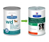 Hill´s Prescription Diet Canine w/d Lata