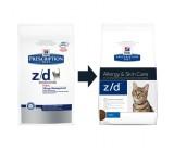 Hill´s Prescription Diet z/d Low Allergen Feline 2kg