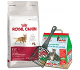 Royal Canin Fit 32 10Kg + Okoplus 5L y paleta